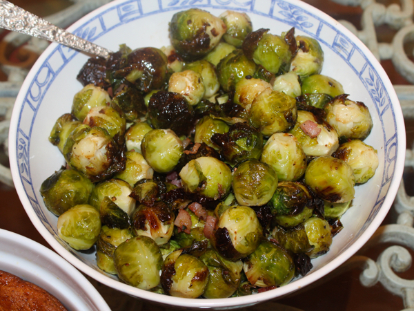 Pancetta Roasted Brussel Sprouts – eRecipe