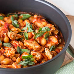 Italian Spiced Chicken Pasta In Tomato Sauce ERecipe