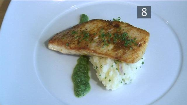 Fillets of john dory with warm potatoes olives capers for John dory recipe