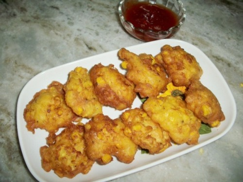 Chinese Chicken With Pancakes Recipe | New Idea Food |Chinese Corn Nuggets