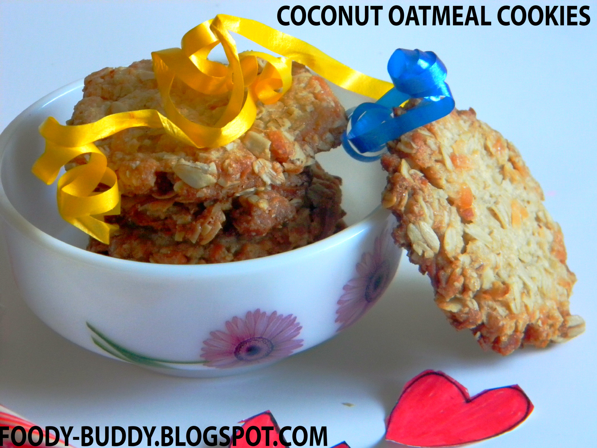 COCONUT OATMEAL COOKIES WITH COCONUT OIL – eRecipe