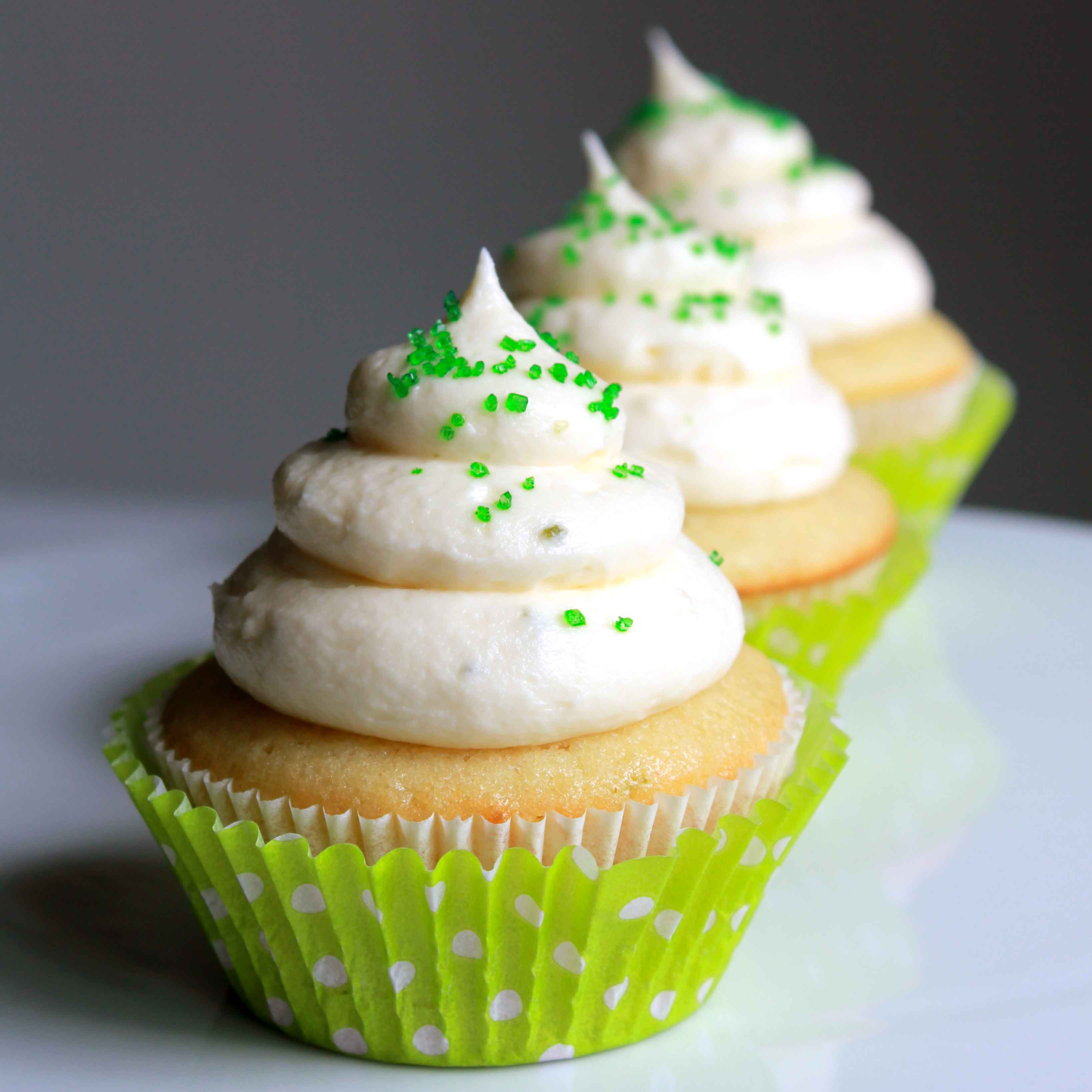lime cream cheese frosting for cupcakes