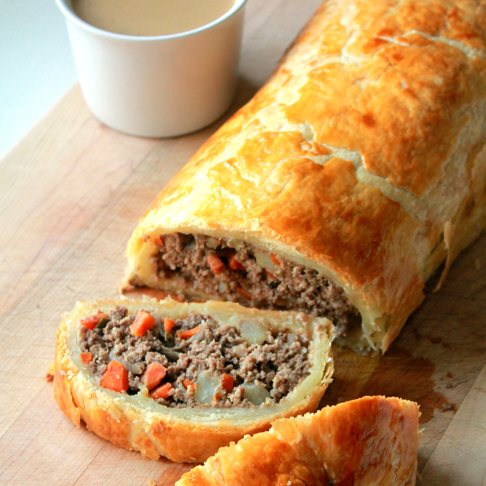 Minced Beef Wellington Erecipe