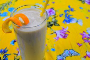 Banana Soya Milk Smoothie