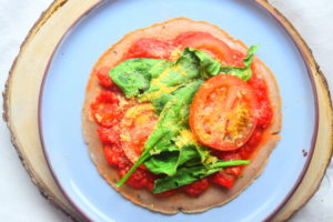 Buckwheat Tortilla Pizza