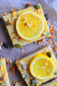 Lemon & Almond Slices