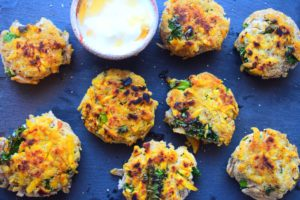 Plantain Fritters With Honey & Yoghurt