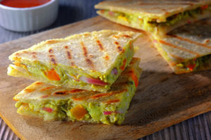 Grilled Avocado Quesadilla