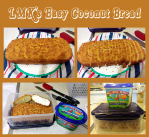 LMK's Easy Coconut Bread