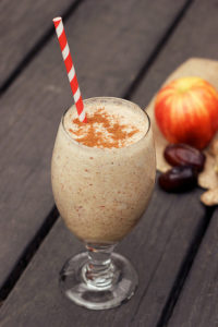 Apple with Cinnamon, Vegan Smoothie