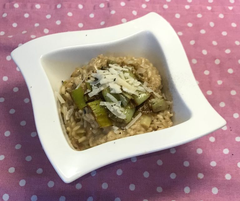 Leek and Dolcelatte Risotto