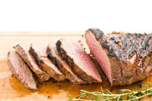 Tri-tip steak with rosemary
