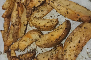 Homemade Potato Wedges